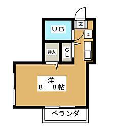 アートライフワカタケ[2階]の間取り