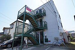 埼玉県上尾市井戸木1丁目の賃貸アパートの外観