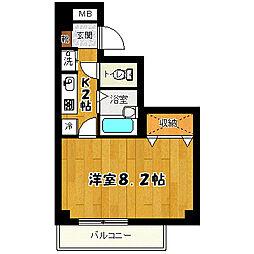 第2本田ビル[401号室号室]の間取り