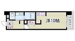 S-FORT神戸神楽町[7階]の間取り