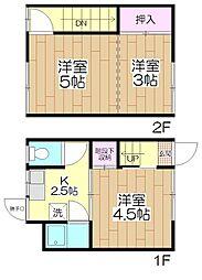 鈴木アパート[2号室号室]の間取り