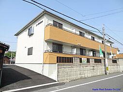 福岡県遠賀郡水巻町吉田東1の賃貸アパートの外観