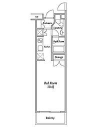 HF碑文谷レジデンス[4階]の間取り
