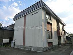 北海道札幌市東区北四十六条東14の賃貸アパートの外観