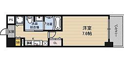 エスライズ京町堀[5階]の間取り