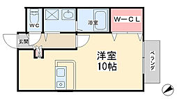 VIVACE〜ビバ—チェ〜[101号室]の間取り