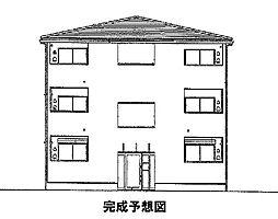 神奈川県平塚市横内の賃貸アパートの外観