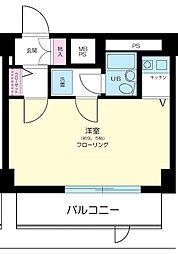 東建シティハイツ上野[8階]の間取り