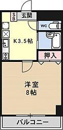 メゾンYOU&I[106号室号室]の間取り