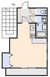 RINGS SHIMOYAMA[402号室]の間取り