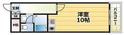 ピアー依奈[3階]の間取り