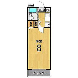 インペリアル桜[2階]の間取り
