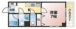 GKレジデンス王子公園[5階]の間取り