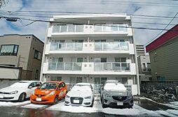 北海道札幌市中央区南六条西21丁目の賃貸マンションの外観