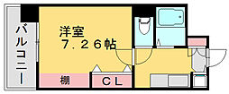 アクセス第3ビル博多東[3階]の間取り