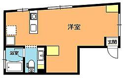 埼玉県上尾市愛宕1丁目の賃貸マンションの間取り