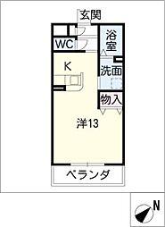 Riziere21[3階]の間取り