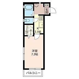 Maison du Coeur(メゾン・ド・クール)[2階]の間取り