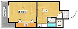 吉武ビル[3階]の間取り