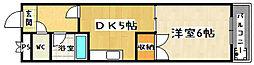 醍醐アーバン[206号室]の間取り