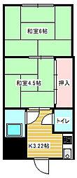 ダイワマンション[3階]の間取り