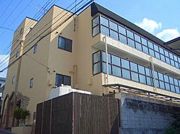 大阪府柏原市旭ケ丘4丁目の賃貸マンションの外観