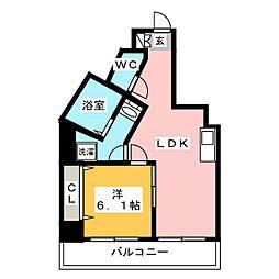 インヘリッツ田原[12階]の間取り