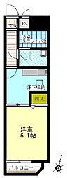 ライオンズマンション拝島第2[1階]の間取り