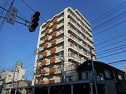 三好マンション万代[8階]の外観