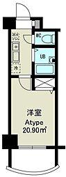 ノルデンハイム東三国IIIA[11階]の間取り