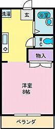 Bs HOUSE(ビーズハウス)[1階]の間取り