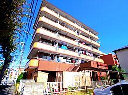 東京都東大和市新堀3丁目の賃貸マンションの外観