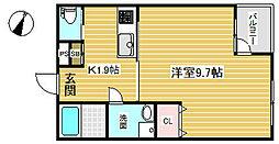 ウィステリア神戸駅前[8階]の間取り