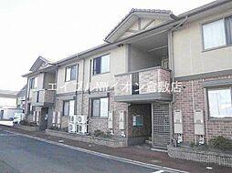 岡山県倉敷市松江1の賃貸アパートの外観