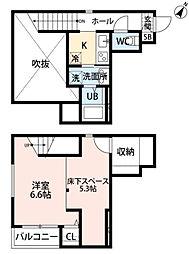 ヴィクトワール吉塚[1階]の間取り