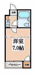 アポローズマンション[3階]の間取り
