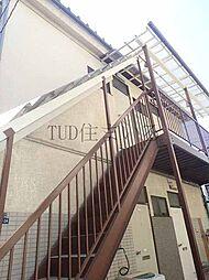 東京都北区桐ケ丘2丁目の賃貸アパートの外観