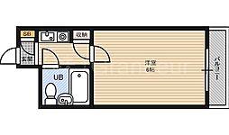 イズミパート10[5階]の間取り