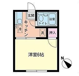 桜荘[207号室]の間取り