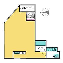 KAKOビル[4階]の間取り