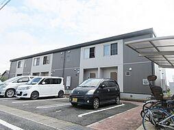 滋賀県蒲生郡日野町松尾1丁目の賃貸アパートの外観