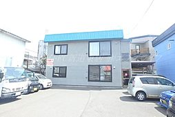 北海道札幌市東区北二十七条東22丁目の賃貸アパートの外観