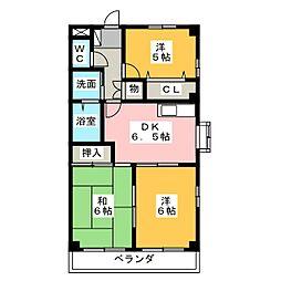 ガーデンプレイスSK[1階]の間取り