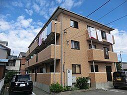 愛知県西尾市桜町1丁目の賃貸マンションの外観