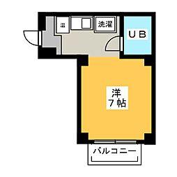 満天星館 (ドウダンハイツ)[3階]の間取り