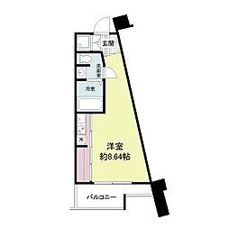フォレステージュ江坂公園[4階]の間取り