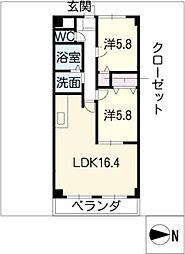 C2SQUARE[3階]の間取り