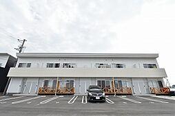 徳島県板野郡藍住町徳命字小塚北の賃貸アパートの外観