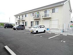福岡県中間市中尾2丁目の賃貸アパートの外観