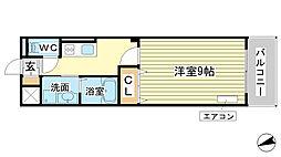 AXIO[3階]の間取り